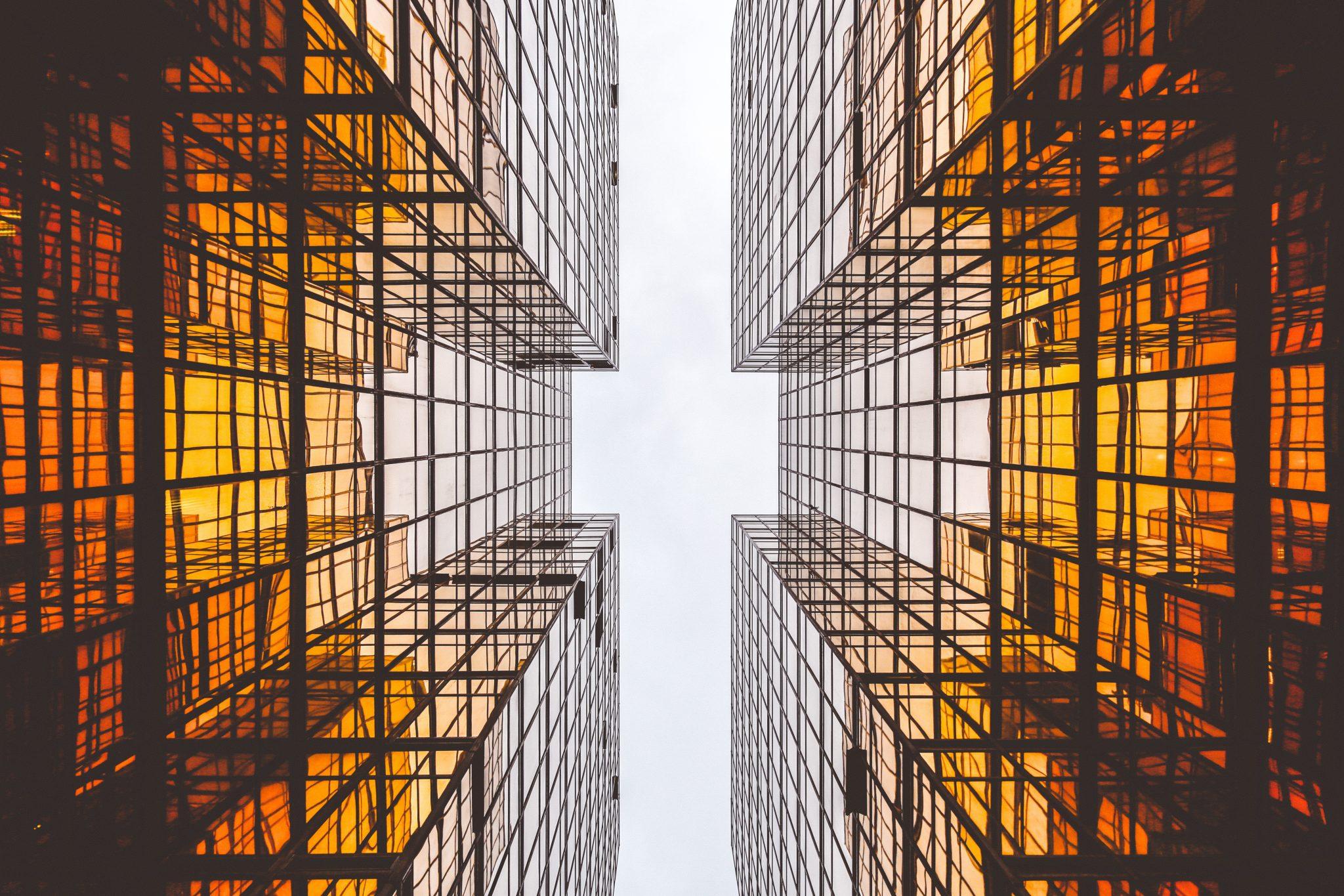 Skyscraper orange